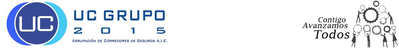 UC GRUPO 2015 -AGRUPACIÓN DE CORREDORES DE SEGUROS A.I.E. Logo